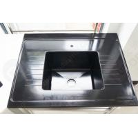 Wholesale Black Color Epoxy Resin Sink With Drain Grooves Use For Science Lab Furniture from china suppliers