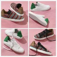 Wholesale Leaves Design Shoes Box Pharrell Williams Adidas Originals Slip On Indian Casual Shoes Men & Women Sneakers Mesh Soft from china suppliers
