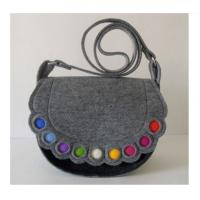 Wholesale 3mm thick felt customised tote bag for shopping centres and hotels from china suppliers