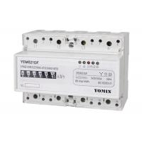 Wholesale Three Phase Din Rail KWH Meter , electronic Active Digital Energy Meter from china suppliers