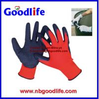 Wholesale 13G Knitted Liner Latex Coated rubber gloves from china suppliers