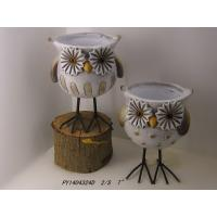 Wholesale Animal Garden Ornaments Owl Garden Planters For Garden / Patio from china suppliers