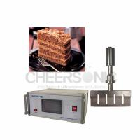 Wholesale Ultrasonic Cake Cutting Machine For Coffee Cake / Candy / Confections  from china suppliers