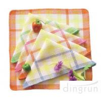 Wholesale One Side Soft Cotton Kitchen Tea Towels Multi Functional OEM / ODM Available from china suppliers
