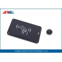 Wholesale Small Type RFID Contactless Reader , High Frequency USB ID Card Reader from china suppliers