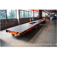 Wholesale Battery power rail flat car rail transport car 20ton load capacity 48V voltage DC from china suppliers