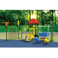 Wholesale children game climbing playground, plastic outdoor slide with swing from china suppliers