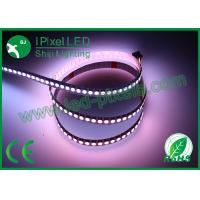 Wholesale 12mm width 144led/m Digital ws2813 5v 43.2w/m LED flexible strip smd5050 RGB digital  led strip from china suppliers
