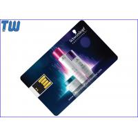 Wholesale Mini UDP Chip Swing USB Credit Card Pen Drive Full Color Printing from china suppliers