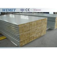 Buy cheap Old type rock wool fire proof  insulated wall panel with metal joint 950mm/1150mm from wholesalers