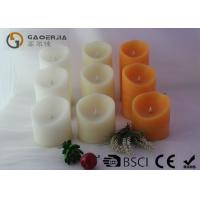 Various Color Flameless Led Candles With Paraffin Wax Material