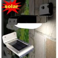 Wholesale 16 LED Solar Bright PIR Human Body Motion Sensor Induced Home Security Outdoor Light from china suppliers