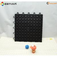 Quality Triangle / Flat Multi-purpose Sport Court Flooring With Basketball / Futsal Anti-UV for sale