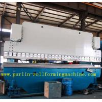 Wholesale Automatic PLC Control Hydraulic Bending Machine For Roofing Sheet , ISO / CE Approved from china suppliers