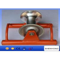 Wholesale Abrasion Resistant Cable Pulling Pulley Lightweight Ground Cable Pulling Rollers from china suppliers