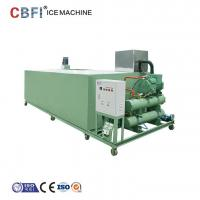 Quality Smart / Energy Save Ice Block Machine With Strong German Compressor ISO for sale