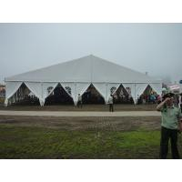 Wholesale Steel Frame Tent Self Cleaning , Festival Event Tent White PVC Cloth Marquee from china suppliers