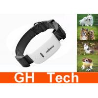 Wholesale Small Black Pet GPS Tracker Quad Band GSM GPRS For Dog Positioning from china suppliers