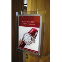 Wholesale Double sides Acrylic Sign Holder, LED Illuminated - Clear,backlit slim sign from china suppliers
