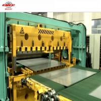 Wholesale Automatic 0.4 - 3mm Metal Coil Cut To Length Line Machine CE Straighten from china suppliers