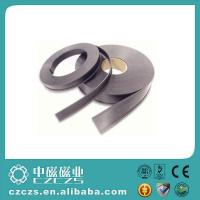 Buy cheap C Profile Rubber Covered Magnets Card Holder Magnetic Extrusion Strips from wholesalers