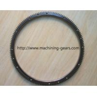Buy cheap Steel Forged Fly Wheel Ring Gear / Forklift Parts Tooth Large Ring Gear from wholesalers