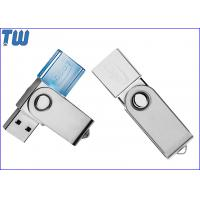 Wholesale Swivel Crystal 4GB Pendrive Flash Disk USB Device Multi LED Light from china suppliers