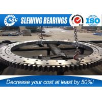 Wholesale 50Mn komatsu PC60-6 Four Point Contact Bearing , excavator slew ring With External Gear from china suppliers