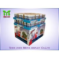 Wholesale Moisture Proof Cardboard Pallet Display Racks / Advertising Cardboard Standees For Noodles from china suppliers