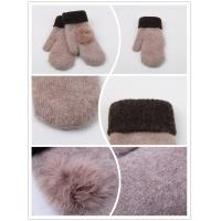 Wholesale New shell sheepskin leather glove full finger fur gloves Made in China from china suppliers