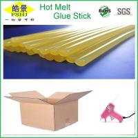 Wholesale Perfect Carton Sealing Colored Hot Melt Glue Sticks , Hot Glue Gun Sticks from china suppliers