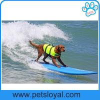 Wholesale Pet Product Supply Cheap High Quality Colorful Dog Life Jacket China Factory from china suppliers