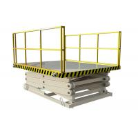 Wholesale Warehouse Hydraulic Lift Ladder Size Customized For Loading / Unloading Goods from china suppliers