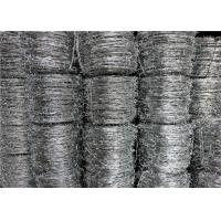 Galvanized Security Barbed Wire Iowa Type Traditional Not Razor Type