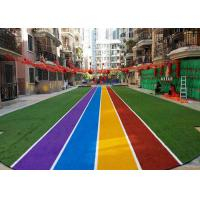 Wholesale Runing Track Coloured Artificial Grass Carpets For Landscaping Decoration from china suppliers