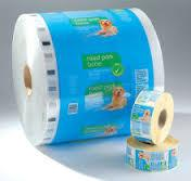 Wholesale Anti - Punch Plastic Packaging Rolls , LLDPE Flexible Packaging Films from china suppliers