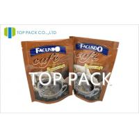 Wholesale Foil Plastic Packaging Bags Stand Up Coffee Bags With Zipper from china suppliers