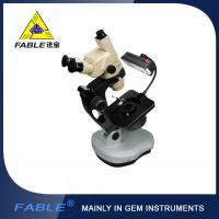 Wholesale Ellipse base Generation 3rd Swing arm type Gem Microscope F12 Trinocular lens from china suppliers