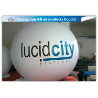 Wholesale White Round Inflatable Advertising Balloon Helium Balloon Ball Customized from china suppliers