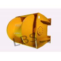 Buy cheap Engineering 10 Ton Hydraulic Crane Winch Single Rope Tension One Year Warranty from wholesalers