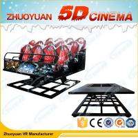Wholesale Red Supermarket Motion Virtual Reality Simulators With 5D Movie Experience from china suppliers