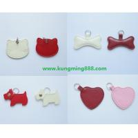 Buy cheap Leather pet tags,dog tags, pet jewelry and accessory,dog collars tags,dog pendants from wholesalers