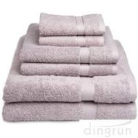 Wholesale Dry Fast Absorbent Bath Towels Set For Home / Hotel No Fading , No Pilling from china suppliers
