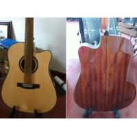 Wholesale Luxurious Whole Solid Wood Acoustic Guitar small Vintage Guitar TP-AG80 from china suppliers