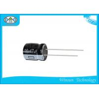 Wholesale High Stability  Aluminum Electrolytic Capacitors 47uF / 16V Capacitor FW Series from china suppliers