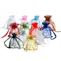 Wholesale Organza Bag With Logo Ribbon Drawstring from china suppliers