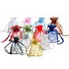 Buy cheap Organza Bag With Logo Ribbon Drawstring from wholesalers