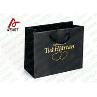 Wholesale Hot Stamping Printed Custom Paper Shopping Bags For Retail Store Medium Size from china suppliers