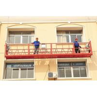 Wholesale High - rise roof suspended working platform Q235 with powder coated , suspended personnel platforms from china suppliers