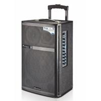 Wholesale Mic Priority Outdoor Portable Pa Speaker System / Rechargeable Trolley Speaker from china suppliers